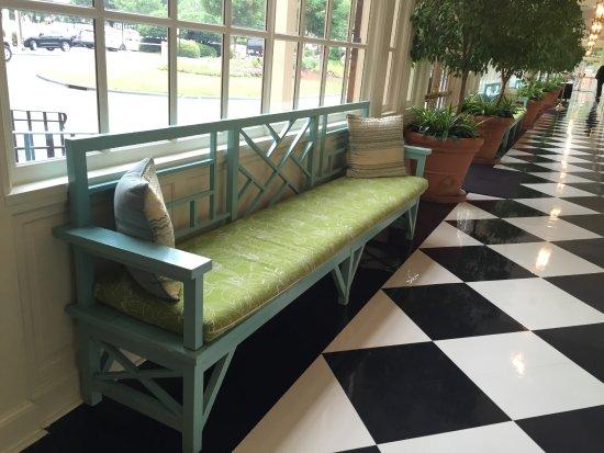 The Carolina Inn: We loved the decor!