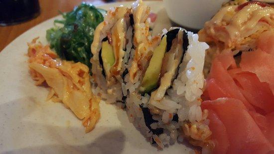 Jensen Beach, FL: Fresh Sushi & seaweed salad