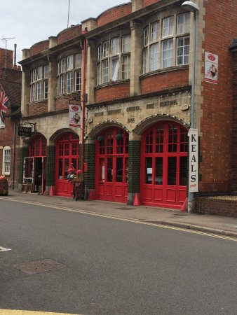 Market Harborough, UK: Keals in the old fire station building