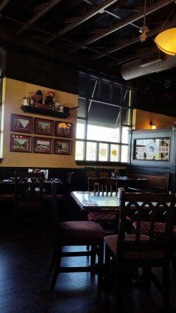 Fionn MacCool's Irish Pub: We were alone in this section!