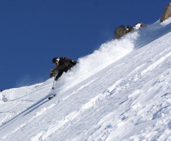 San Carlos de Bariloche, Argentina: PST Founder Justin Lozier skiing Cerro Catedral- Alta Patagonia