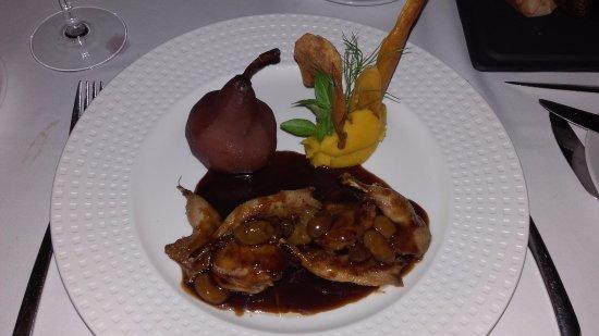 Vaitohi : Cailles : manque de cuisson et peu de viande....