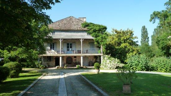 St. Eutrope de Born, Frankrike: Blick auf das Haupthaus