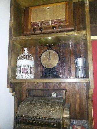 radio e pesa vintage