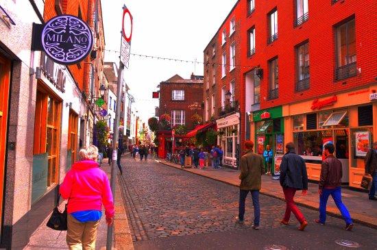Dublin Ireland Restaurants Zone