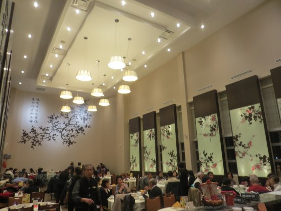 Richlane Chinese Cuisine Ultra High Ceiling Resuling In Low Noise Level Rarity Amongst