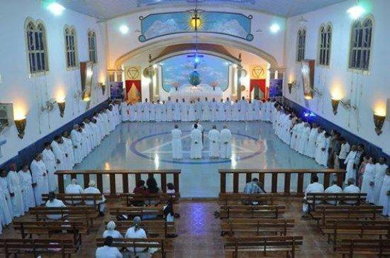 Igreja Ecletica Universal da Cidade Ecletica,Santo Antonio do Descoberto,GO,Brasil.