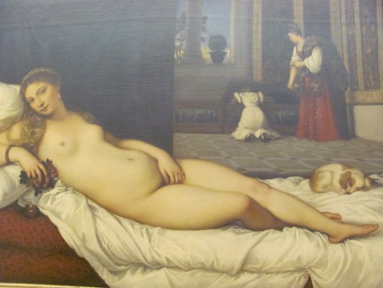 Venus of Urbino by Titian - Picture of Uffizi Gallery, Florence ...
