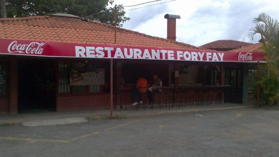 Palmares, Kosta Rika: Barra