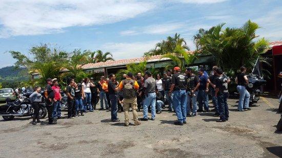 Palmares, Costa Rica: Clientes de Visita