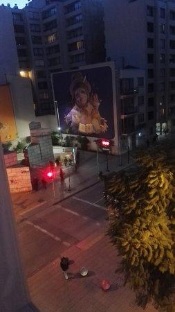 Andes Hostel: Vista desde habitación 45