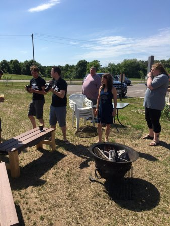 New Richmond, WI: Heated Steel Rod Porter Beer Demonstration