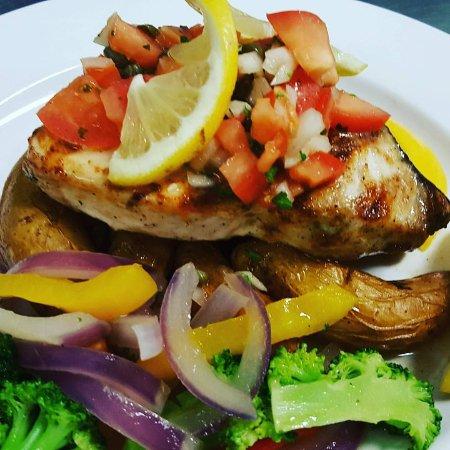 Longshore Restaurant: swordfish
