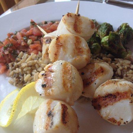 Longshore Restaurant: scallops