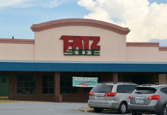 FATZ: Older location. Located in a strip mall