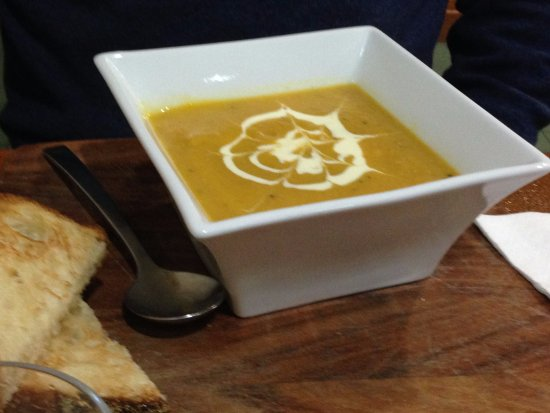 Milawa Commercial Hotel Restaurant: Soup