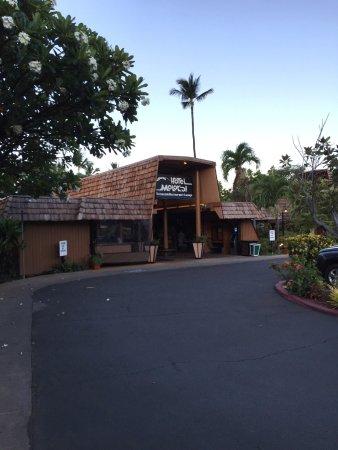 Kaunakakai, Гавайи: Entance to the Hotel Molokai.