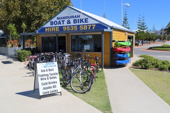‪Mandurah Boat & Bike Hire‬