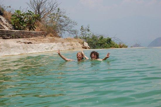 Baño Termal | Disfrutando Un Reponedor Bano Termal Picture Of Hierve El Agua