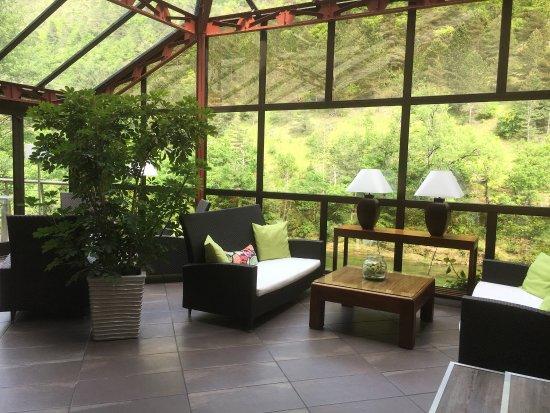 Peyreleau, Frankrike: Magnifique hôtel et très bonne nourriture !