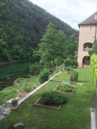 Peyreleau, France : Magnifique hôtel et très bonne nourriture !