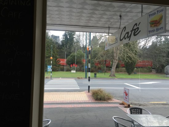 Taumarunui, نيوزيلندا: The Training Cafe. A great place. Friendly and enjoyable. Really changing the lives of our youth