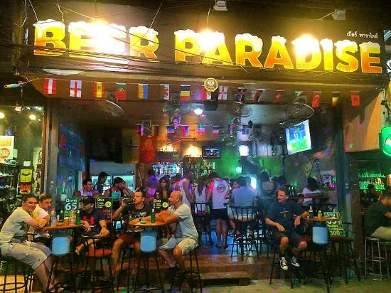 ‪Beer Paradise Bangla Road - Patong beach, Phuket‬