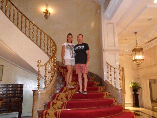 Gran Melia Fenix : lovely staircase