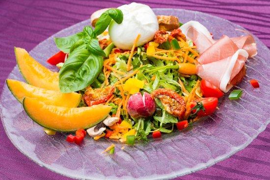 Auberge du Grand Chene: Des salade qui respire la fraicheur