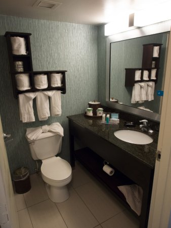 Hampton Inn Orlando International Airport: Lots and lots of towels!