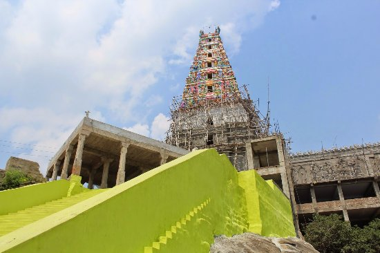 Vellore, Indie: One of the view of Mahadeva Malai Shiva's Temple