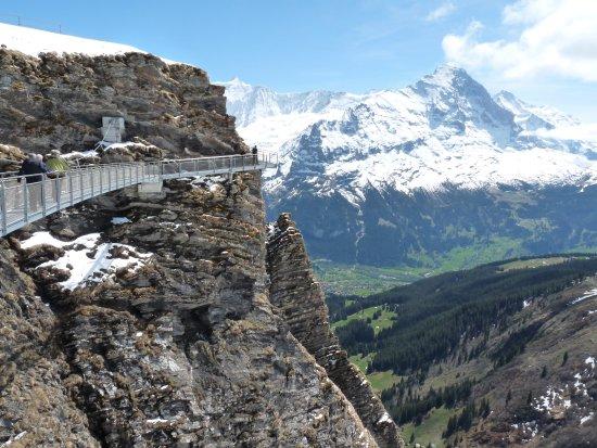 Grindelwald, Suíça: This bridge is amazing.