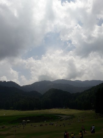 Khajjiar, India: View in the clouds