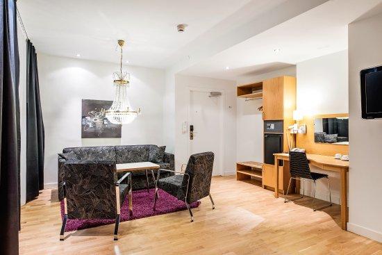 Best Western Hotel Linkoping : Svit sitting area