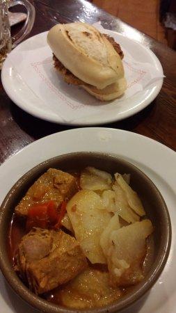 Cortijo de Pepe: Kefta (il panino) e Tapa Atun Salsa