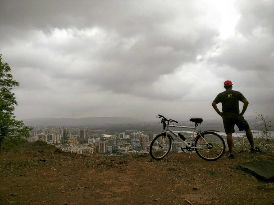 cycling in mumbai - kharghar