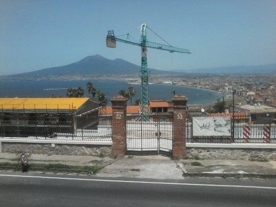 Villa Cimmino Hotel Restaurant : Vista dalla sala esterna