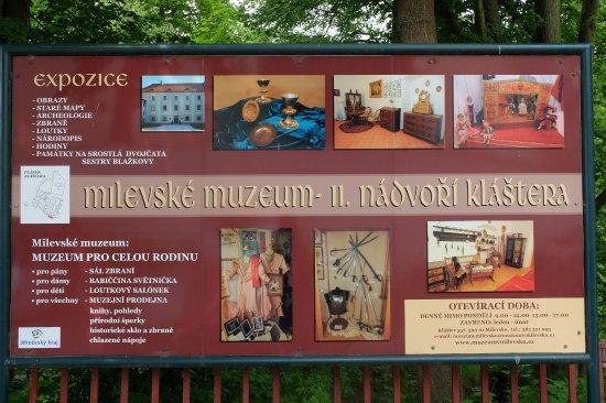 Milevsko, República Checa: Übersichtstafel