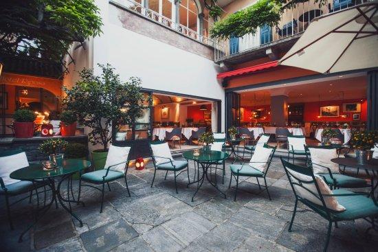 Art Hotel Riposo: Cortile