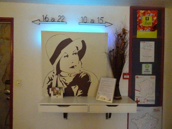 Baudricourt, Γαλλία: gang naar de kamer
