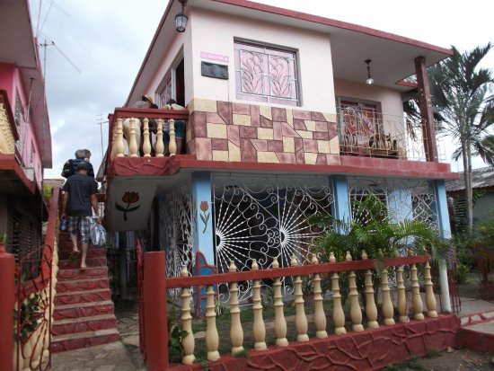 Holguin Province, Cuba: Le resto se situe au 2ième étage