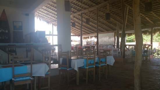 Boca de Yuma, Den dominikanske republikk: Im Restaurant