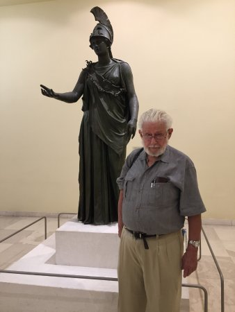 Archaeological Museum of Piraeus: Athena in bronze