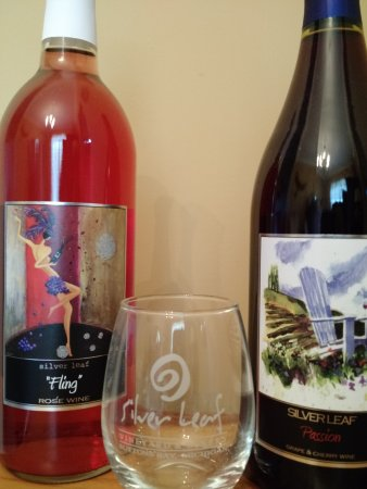 Silver Leaf Vineyard & Winery : My purchase + Tasting glass