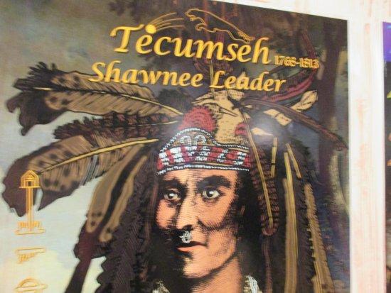 Chatham, Canadá: Tecumseh Shawnee Leader