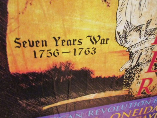 Chatham, Canadá: Seven Years War