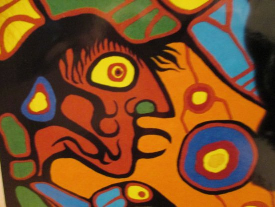 Chatham, Canadá: Copper Thunderbird ~ Norval Morrisseau
