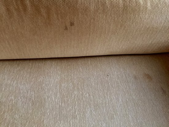 Hyatt Key West Resort and Spa: Stained couch. Ick.