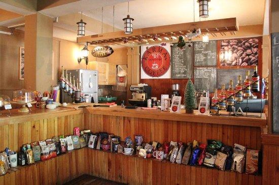 Karma's Coffee : Counter