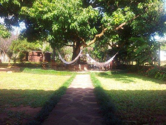 Santa Maria de Fe, Paraguay: Patio